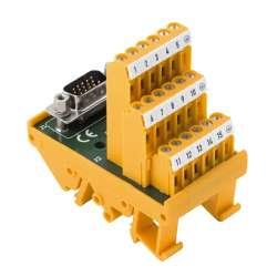 Weidmuller 1428160000 RS SD62F HD UNC4.40 S Исполнение: Интерфейс, RSSD, Вставные разъемы SUB-D высокой плотности, 62-полюсное гнездо, Винтовое соединение