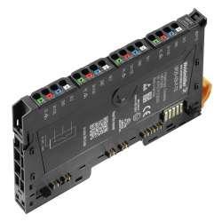 Weidmuller 1460150000 UR20-4DI-P-TS Исполнение: Вынесенный модуль ввода-вывода, IP20, 4-канальный, Цифровые сигналы, Вход