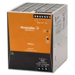 Weidmuller 1469510000 PRO ECO 480W 24V 20A Исполнение: Источник питания регулируемый, 24 V