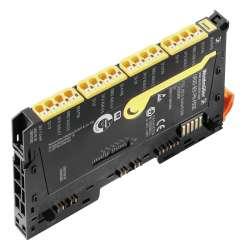 Weidmuller 1529800000 UR20-8DI-PN-FSOE Исполнение: Вынесенный модуль ввода-вывода, IP20, Безопасность, Цифровые сигналы, 8-канальный