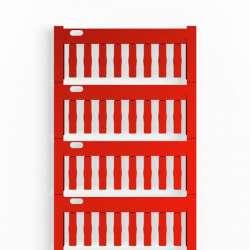 Weidmuller 1718431686 TM-I 18 MC NE RT Исполнение: TM-I, Вставные маркировочные элементы, 18 x 4 мм.кв красный