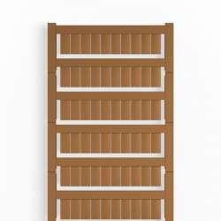 Weidmuller 1773551692 WS 12/6 MC NE BR Исполнение: WS, Маркировка клеммы, 12 x 6 мм.кв Шаг в мм.кв(P): 6.00 Weidmuller, Allen-Bradley, коричневый