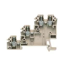 Weidmuller 1783820000 DLI 2.5 DB Исполнение: W-серия, Клемма пускового устройства, исполнительного устройства, Расчетное сечение: 2.5 мм.кв, Винтовое соединение