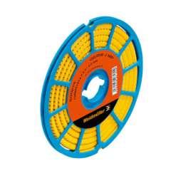 Weidmuller 1868811539 CLI C 1-6 GE/SW 18 CD Исполнение: CableLine, Маркировка проводов и кабелей, 3 - 5 мм.кв 6 x 4.2 мм.кв желтый