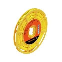 Weidmuller 1871901730 CLI C 2-6 GE/SW L3 CD Исполнение: CableLine, Маркировка проводов и кабелей, 4 - 10 мм.кв 6 x 7 мм.кв желтый
