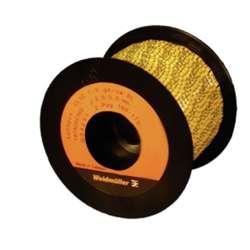 Weidmuller 1878260520 CLI C 1-9 GE/SW 520-539 2-PAG RL Исполнение: CableLine, Маркировка проводов и кабелей, 3 - 5 мм.кв 9 x 4.2 мм.кв желтый