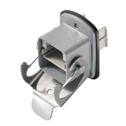 Weidmuller 1963530000 IE-BH-V05M Исполнение: Пустой корпус, Фланцевый корпус, Вариант 5 согласно IEC 61076-3-106, IP67