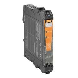Weidmuller 2044850000 ACT20P-CML-10-AO-RC-S Исполнение: Измерительный преобразователь тока, Аналоговый выход, Контроль предельных значений, Входной диапазон измерения: возможность конфигурирования, 0…5/10 A AC or DC