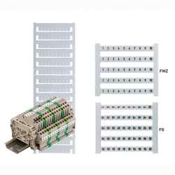 Weidmuller 2123690000 DEK 5 FWZ WS 1-8,+,-, Исполнение: Dekafix, Маркировка клеммы, 5 x 5 мм.кв Шаг в мм.кв(P): 5.00 Weidmuller, белый