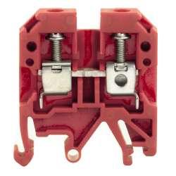 Weidmuller 212840000 SAK 6/EN RT Исполнение: SAK-серия, Проходная клемма, Расчетное сечение: 6 мм.кв, Винтовое соединение