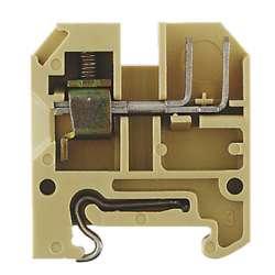 Weidmuller 324460000 AKZ 4 S WA 2X2.8 Исполнение: SAK-серия, Проходная клемма, Расчетное сечение: 4 мм.кв, Винтовое соединение