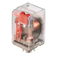 Weidmuller 7940007742 RRD321220 Исполнение: RIDERSERIES RRD, Реле, Количество контактов: 3 Перекидной контакт с кнопкой контроля срабатывания AgNi 90/10, Номинальное напряжение: 220 В DC, Ток: 10 A, Втычное соединение