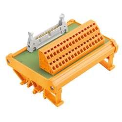 Weidmuller 8537140000 RS F40 Z Исполнение: Интерфейс, RSF, Вставной разъем по стандарту IEC60603-13/ DIN41651, 40 полюсов, Пружинное соединение