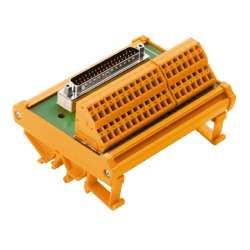 Weidmuller 8537240000 RS SD37 SZ Исполнение: Интерфейс, RSSD, Вилка SUB-D, в соответствии с IEC 60807-2 / DIN 41652, 37-полюсная вилка, Пружинное соединение