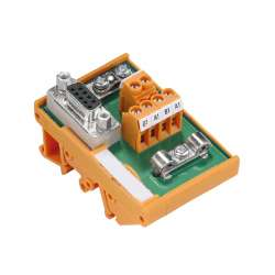 Weidmuller 8788580000 RS PB-DP T SUB-D Исполнение: Тройник PROFIBUS-DP, IP20