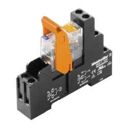 Weidmuller 8881580000 RCIKIT 24VDC 1CO LD/PB Исполнение: RIDERSERIES RCI, Релейный модуль, Количество контактов: 1 Перекидной контакт с кнопкой контроля срабатывания AgNi 90/10, Номинальное напряжение: 24 В DC, Ток: 16 A(1, Винтовое соединение