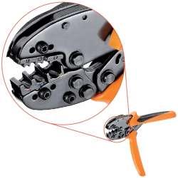 Weidmuller 9006120000 CTI 6 Исполнение: Инструмент для обжима, Обжимной инструмент для контактов, 0.5мм.кв, 6мм.кв, Овальный обжим, Двойной обжим