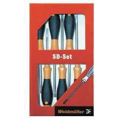 Weidmuller 9009740000 SD Set S2.5-5.5/PH1/2 Исполнение: Отвертка
