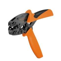 Weidmuller 9014400000 HTI 15 Исполнение: Инструмент для обжима, Инструмент для разделки кабеля под изолированный кабельный наконечник, 0.5 мм.кв, 2.5 мм.кв, Двойной обжим
