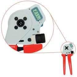 Weidmuller 9205440000 CTIN CM 3.6 Исполнение: Обжимной инструмент для контактов, 1.5мм.кв, 10мм.кв, Обжим с 4 выемками