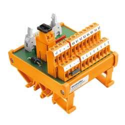 Weidmuller 9445530000 RS 8IO 2W L H S Исполнение: Интерфейс, RS, Светодиод, 2-проводной, Винтовое соединение