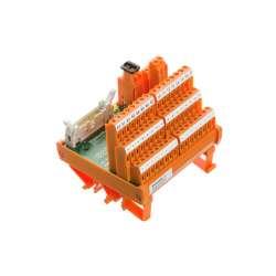 Weidmuller 9445770000 RS 16IO 3W L H S Исполнение: Интерфейс, RS, Светодиод, 3-проводной, Винтовое соединение